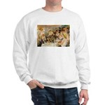 Renoir Quote and Landscape Sweatshirt