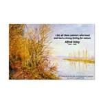 Alfred Sisley Nature Quote Mini Poster Print