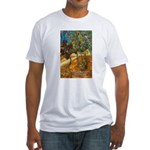 Artist Van Gogh Painting Fitted T-Shirt