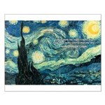 Starry Night Vincent Van Gogh Small Poster