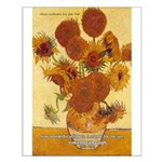Van Gogh Painting & Quote Small Poster