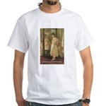 Aesop Quote Psyche Painting White T-Shirt