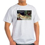 Freud Erotic Quote and Titian Ash Grey T-Shirt